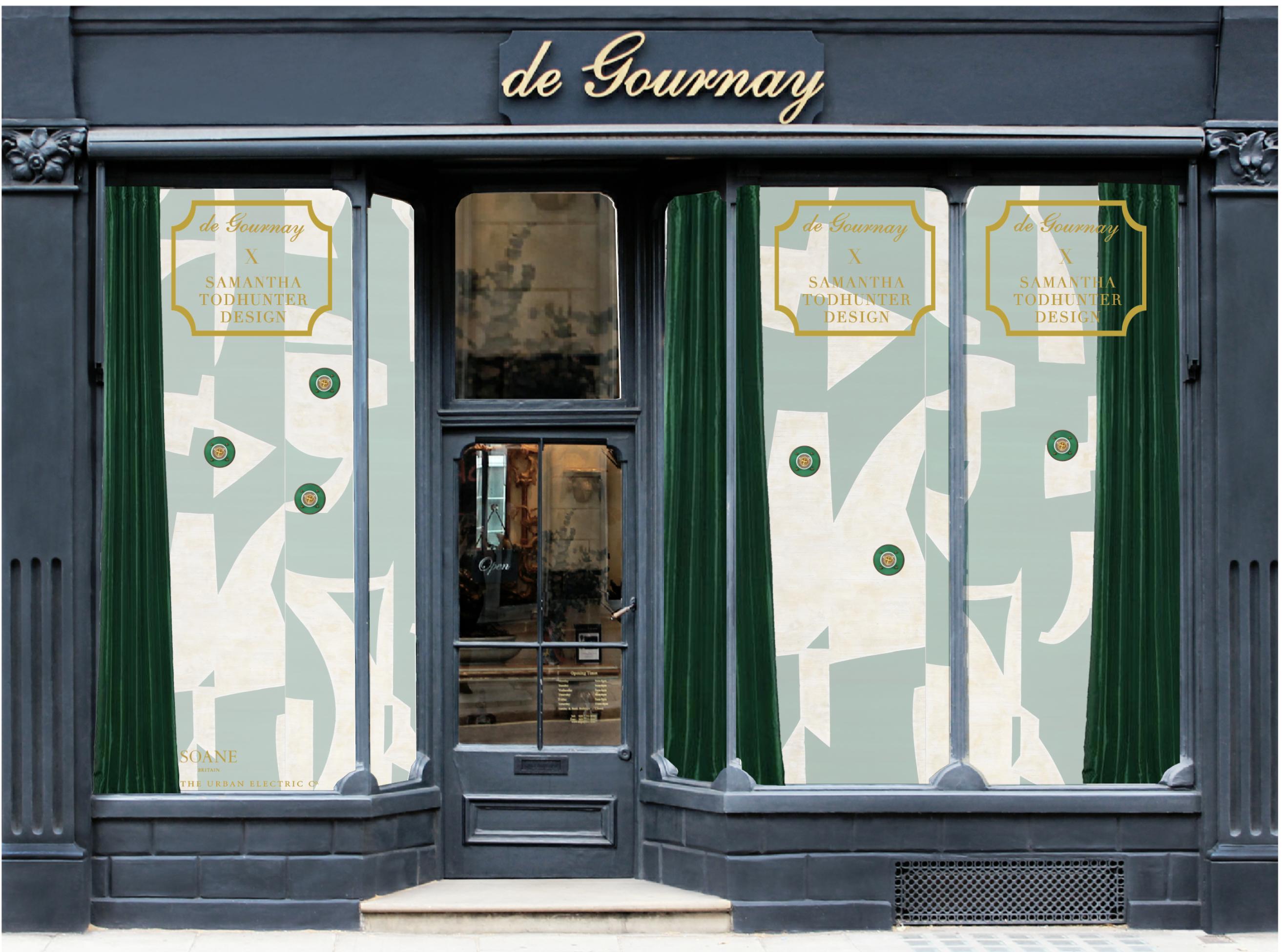 Samantha Todhunter Design X de Gournay
