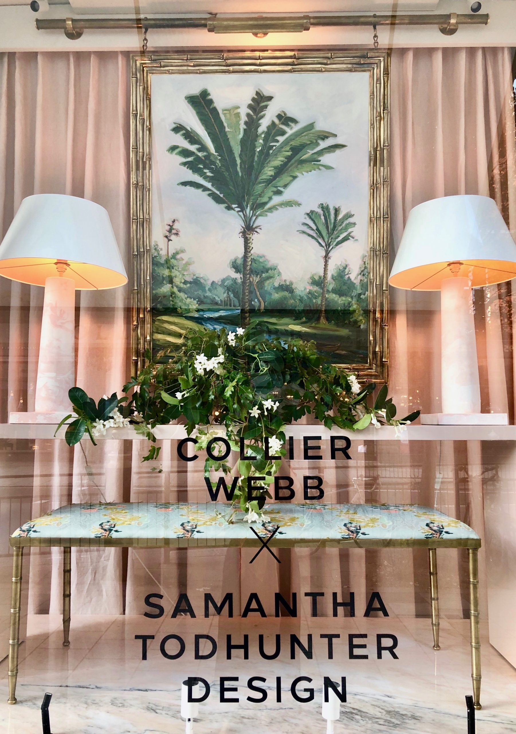 Samantha Todhunter Design X Collier Webb